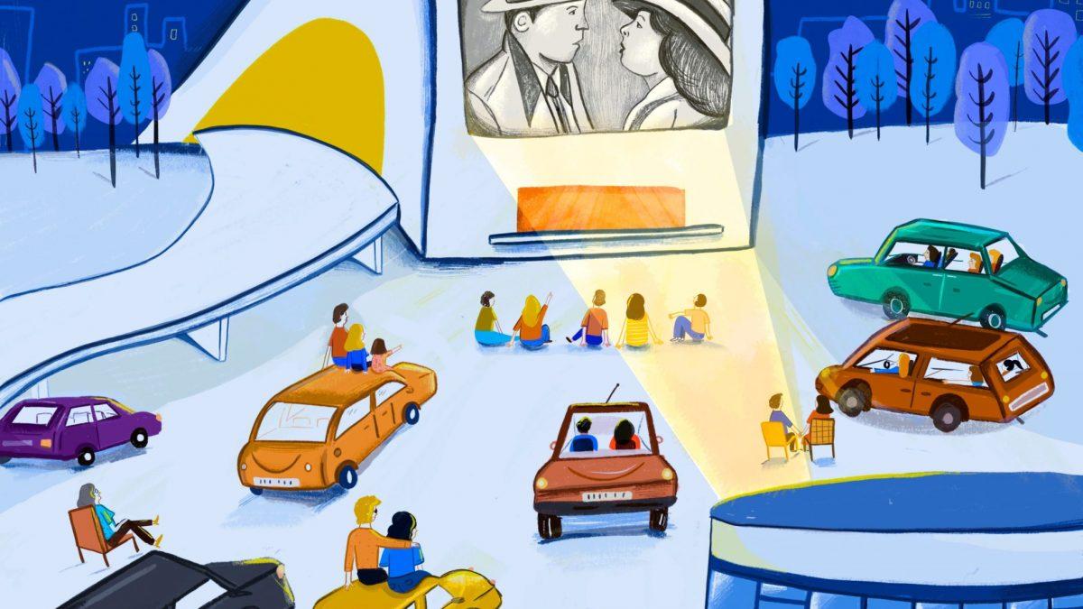 Cinco nuevo pases en el autocine del Centro Niemeyer