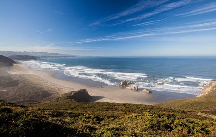 8 playas de Asturies para evitar aglomeraciones