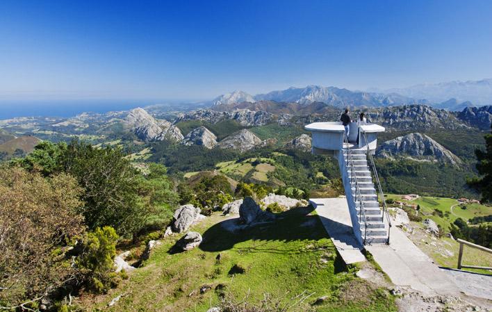 El Fitu: Las mejores panorámicas del oriente de Asturies