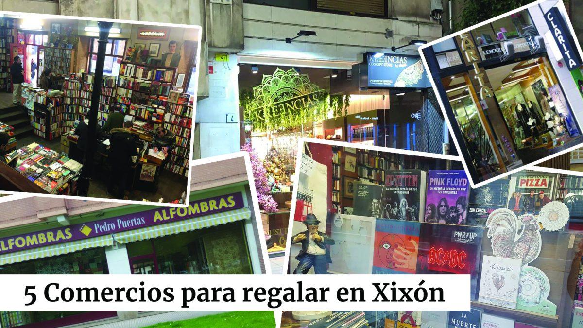 5 comercios locales para regalar en Xixón