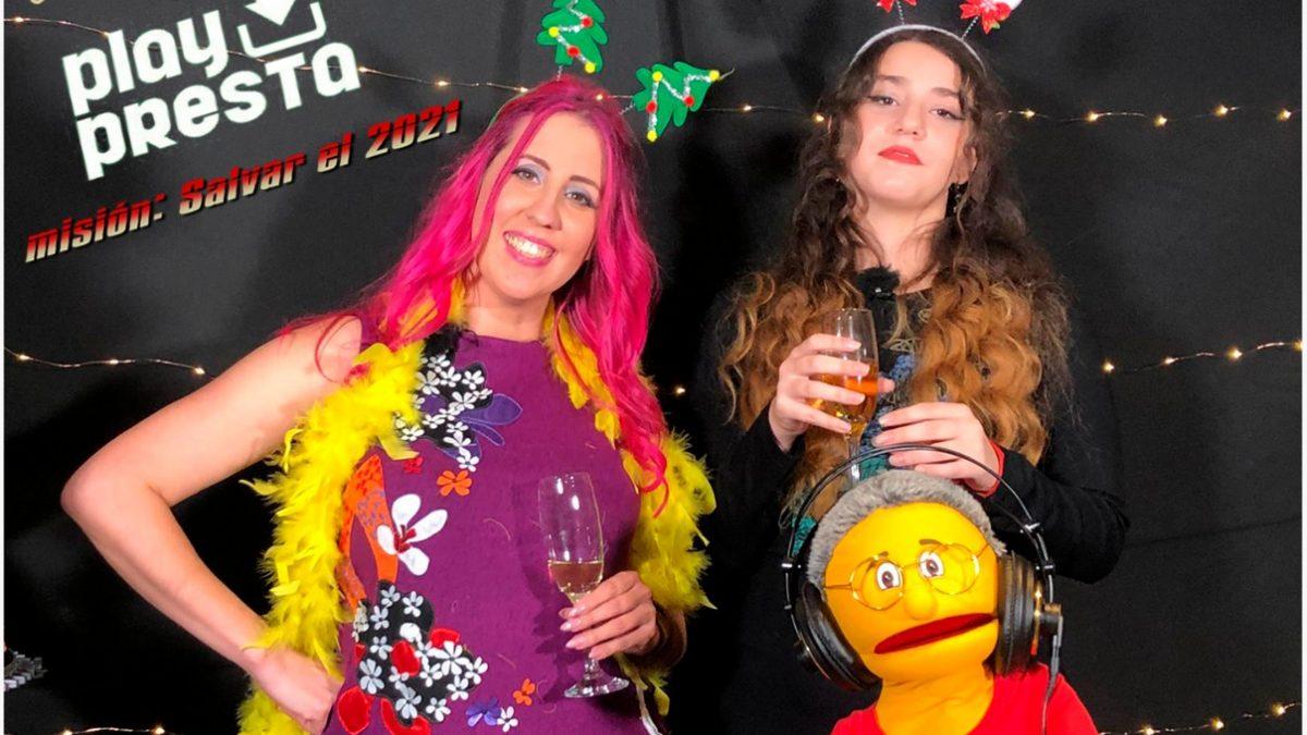 PlayPresta celebra la Nochevieja con campanadas presentadas por Arantxa Margolles y Alma Hidalgo