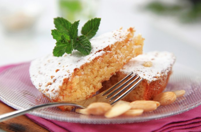 Les recetes llambiones de Beatriz Rato: Pastel de almendra