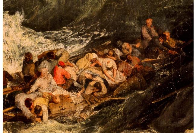 Del mar bravo al buen mar. Tragedia e inmigración en el Candás de 1840