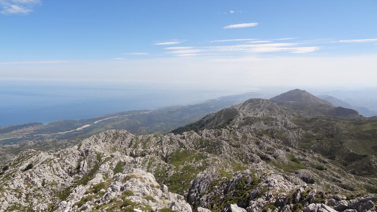 El Pico Turbina, la cumbre principal de la Sierra del Cuera