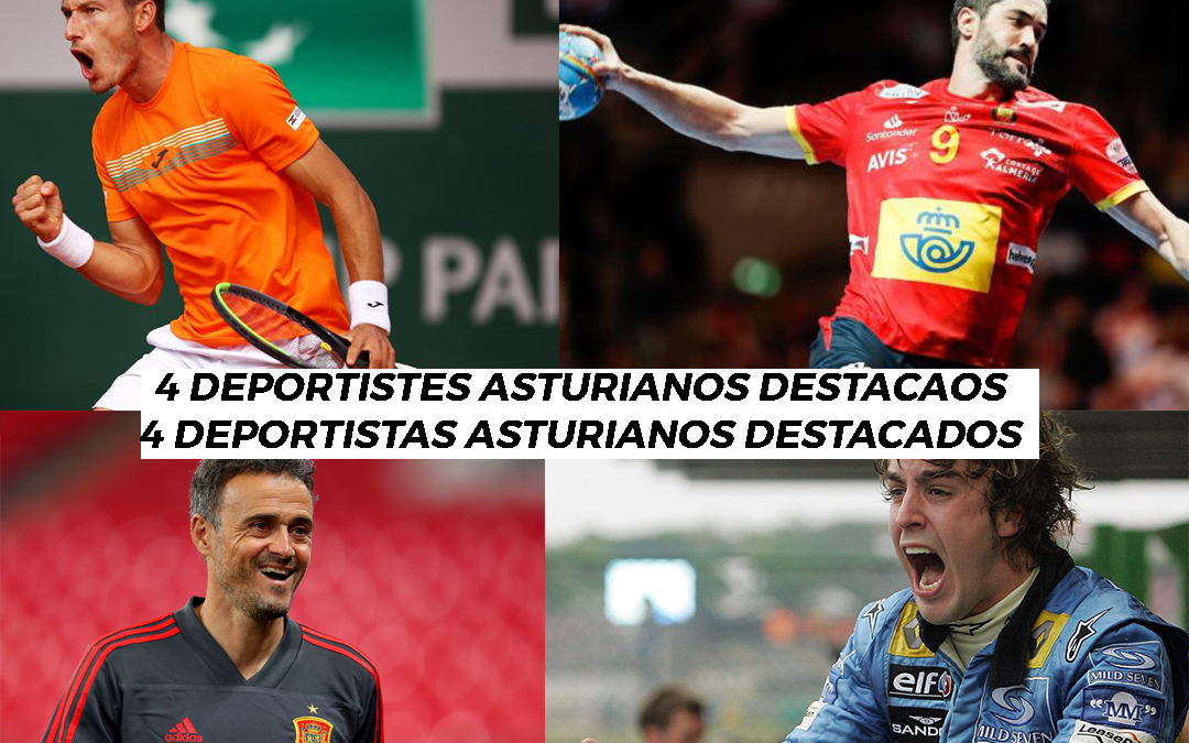 4 deportistas Asturianos que triunfaron