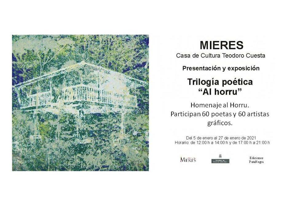 Poetas e ilustradores homenajean al hórreo en Mieres