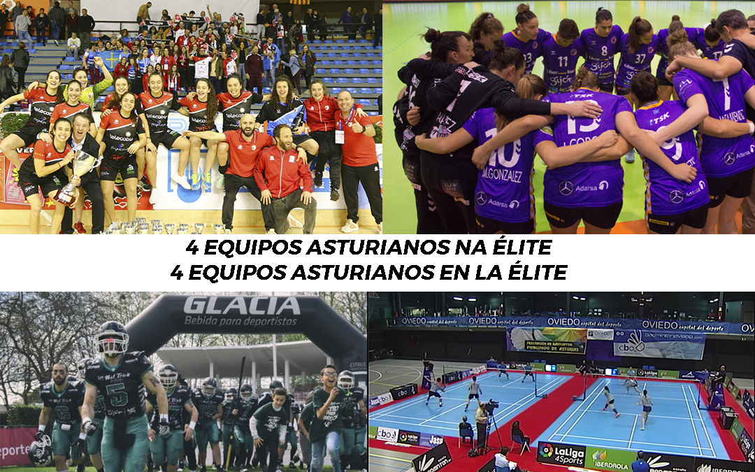 4 equipos asturianos en la élite