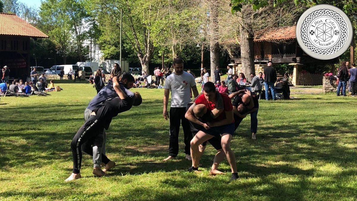 Lucha baltu: la lucha asturiana
