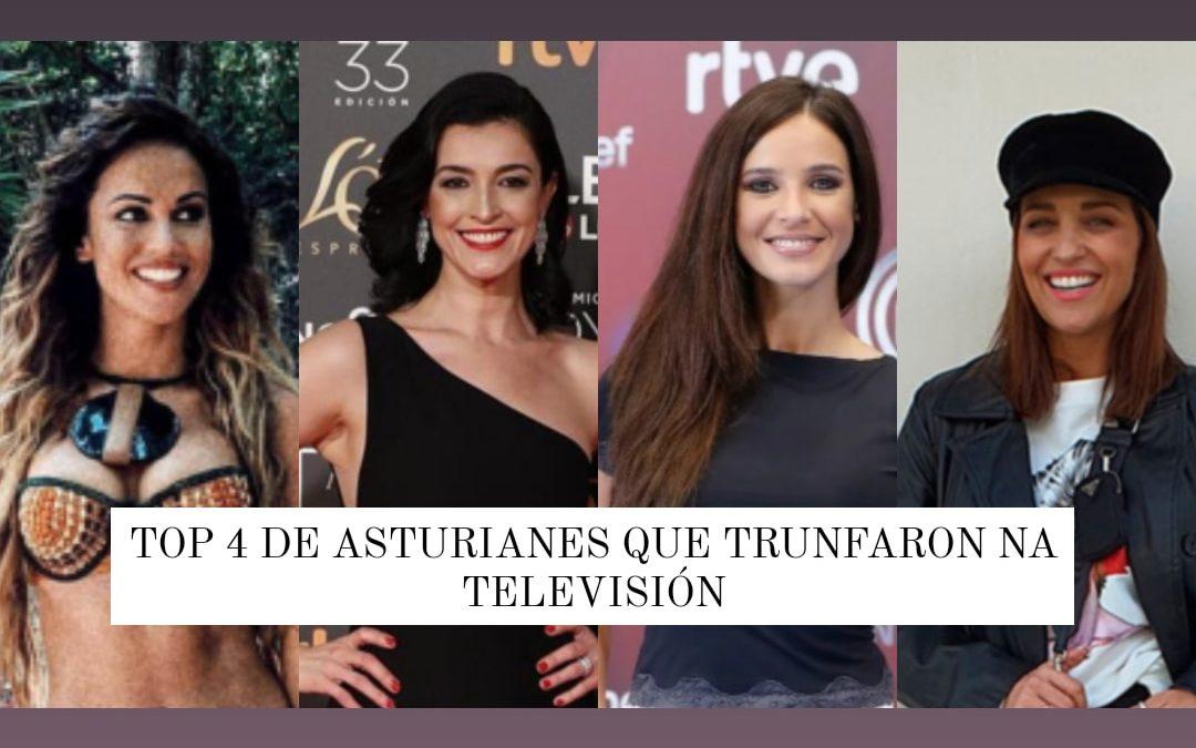 4 Asturianas que triunfaron en la televisión