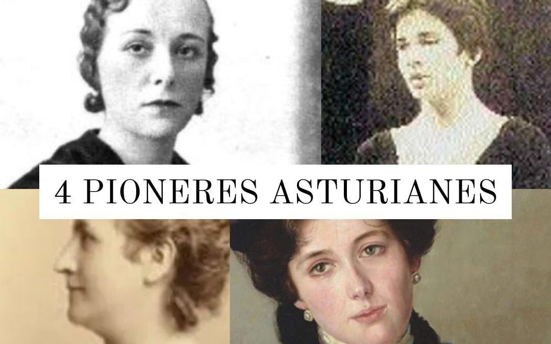4 Asturianas pioneras
