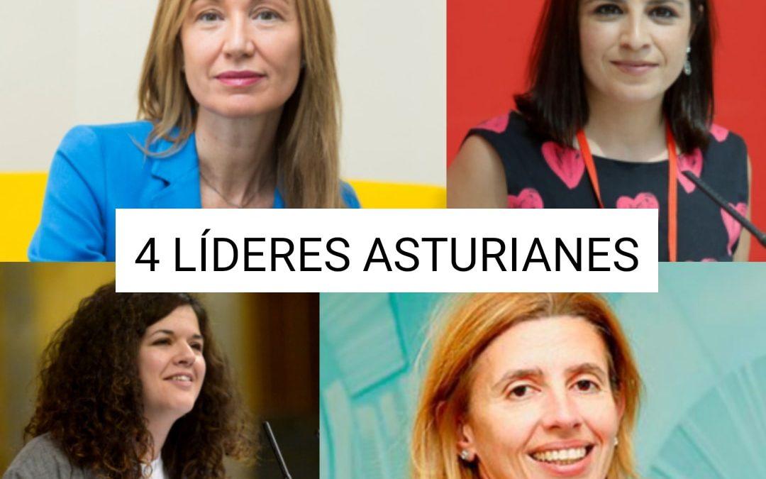 4 Líderes asturianas
