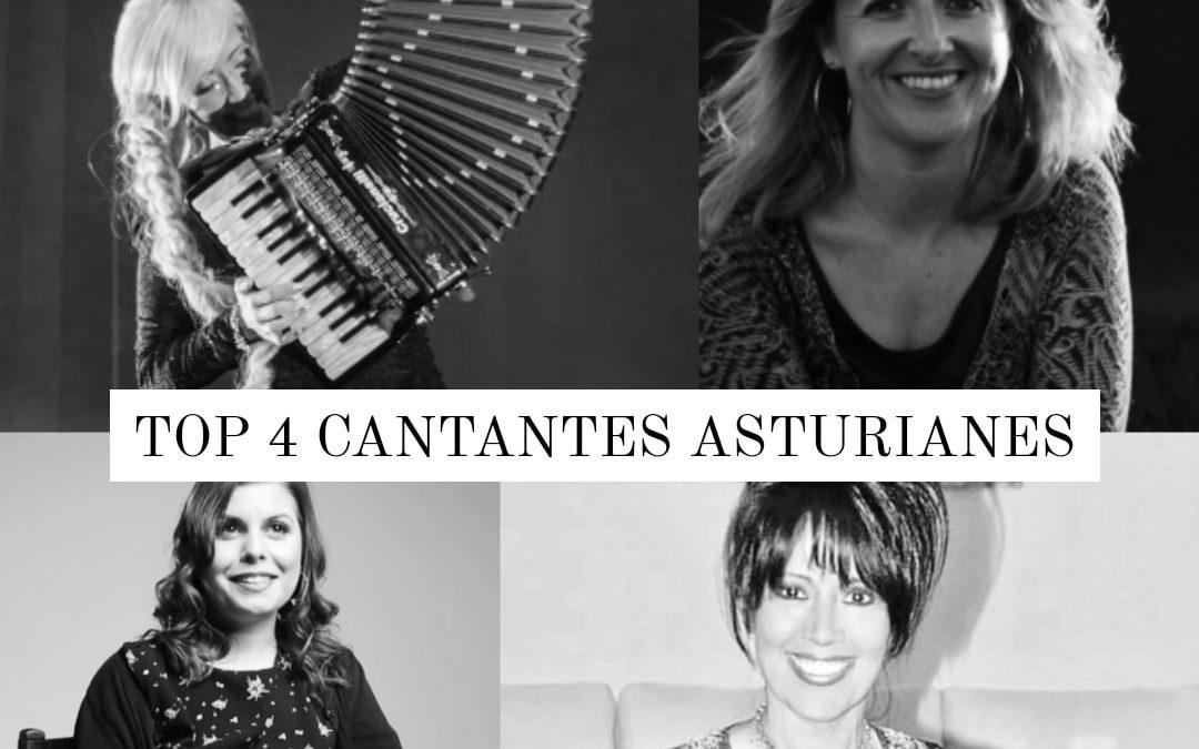 4 cantantes asturianas de gran voz