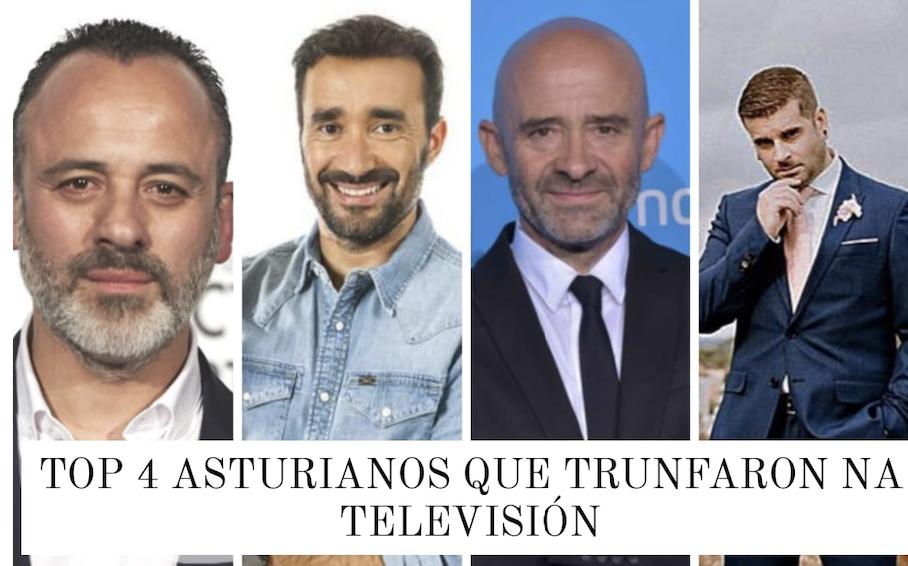 4 Asturianos que triunfaron en la televisión