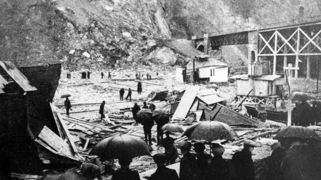 La tragedia del Musel (Xixón, 1913)