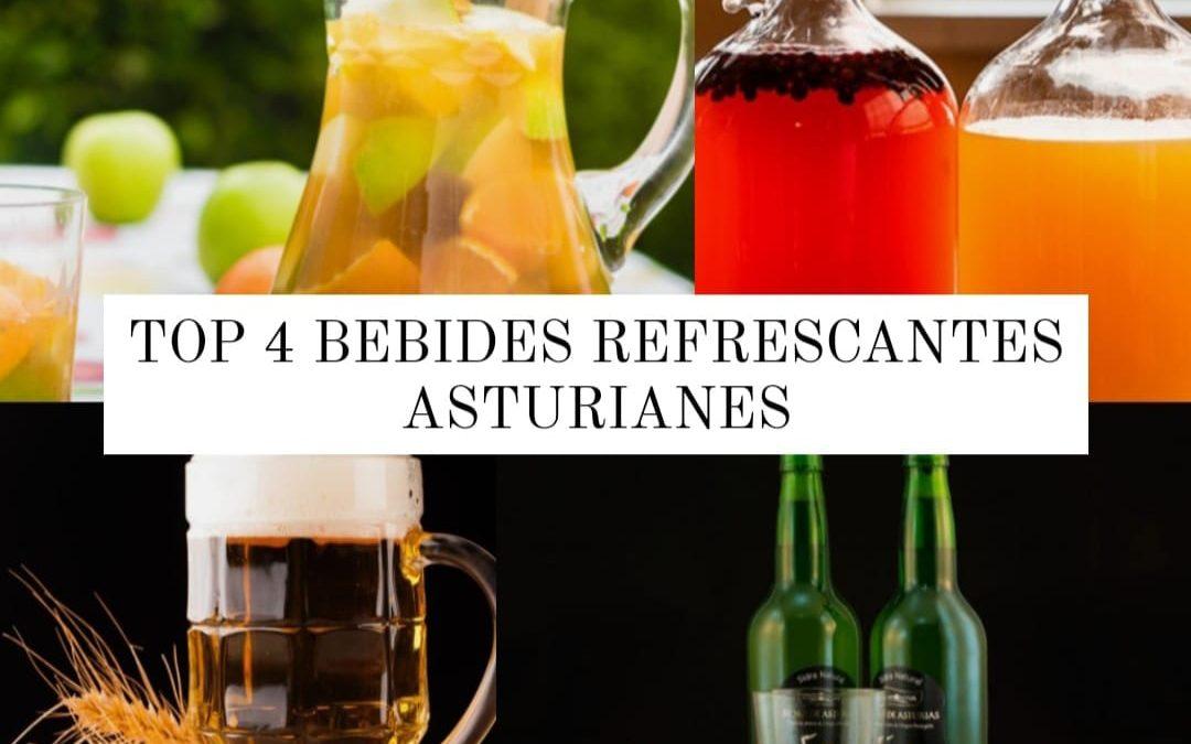 TOP 4 de bebidas refrescantes asturianas