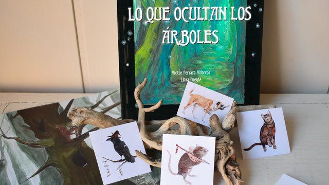 «Lo que ocultan los árboles», un libro de rol creado por dos asturianos