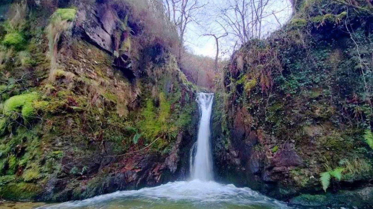El Chorrón, un pequeño secreto de la naturaleza escondido en Villamayor
