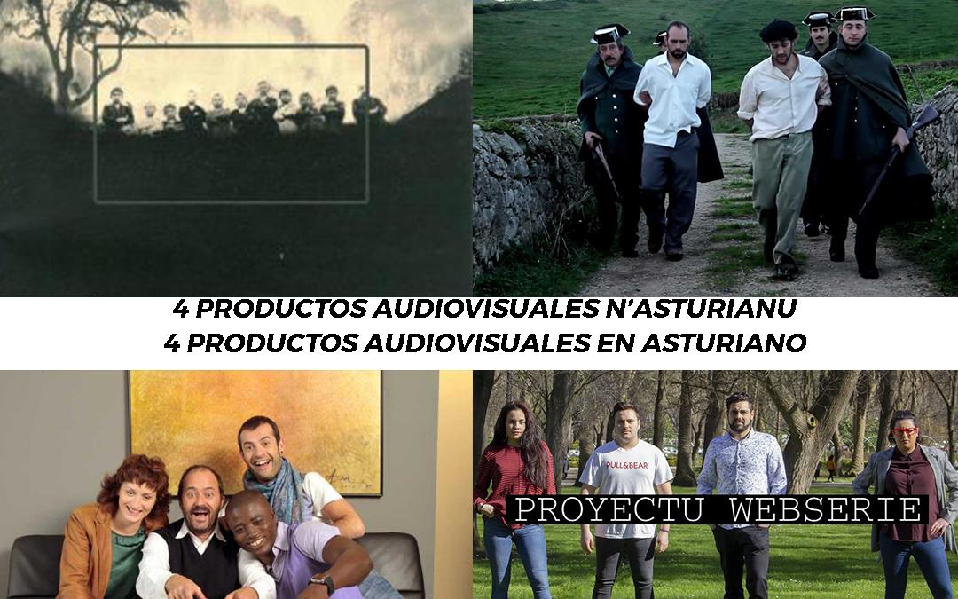 4 productos audiovisuales en asturiano