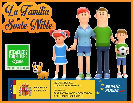 La familia Soste-Nible nos conciencia sobre la economía circular en asturiano (y otras lenguas)