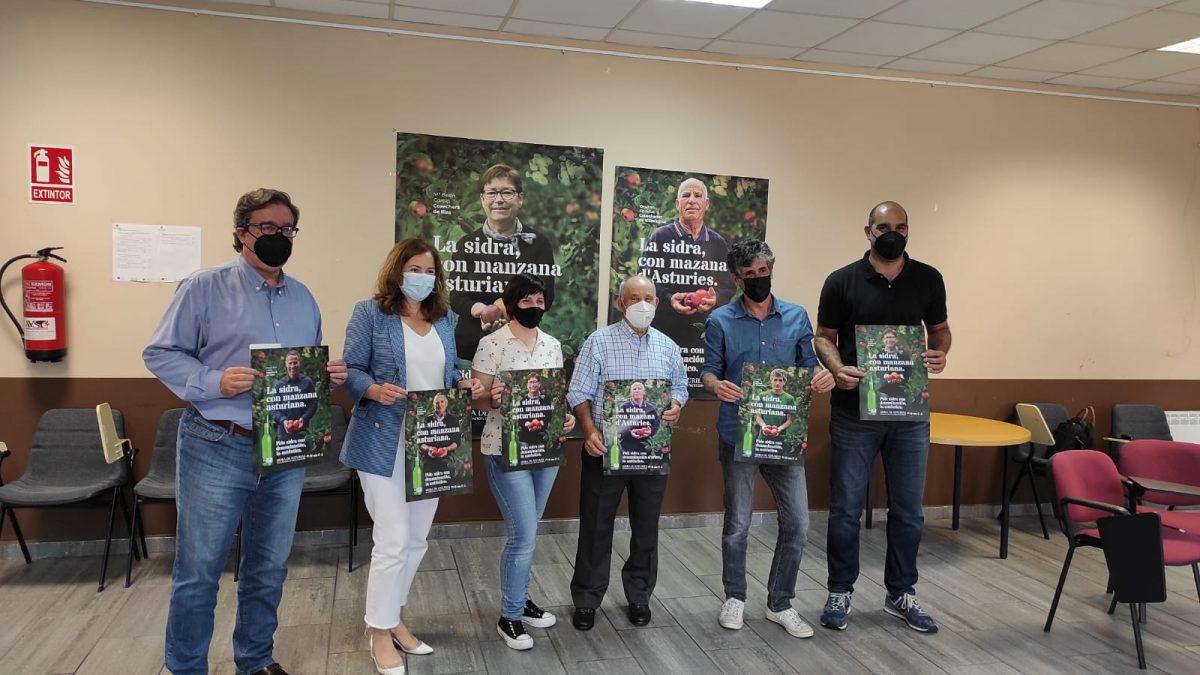Los cosecheros, protagonistas de la campaña de la DOP Sidra de Asturias