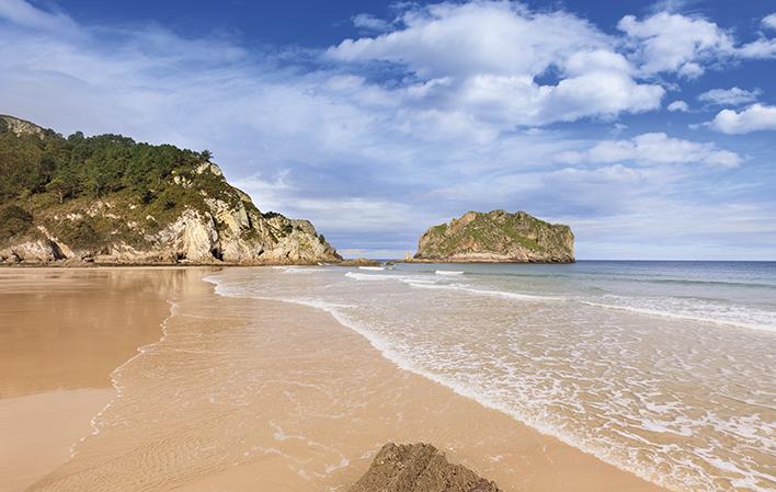 La Franca, una playa indiana