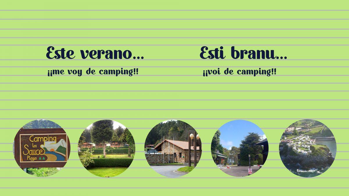 Este verano… ¡¡me voy de camping!!