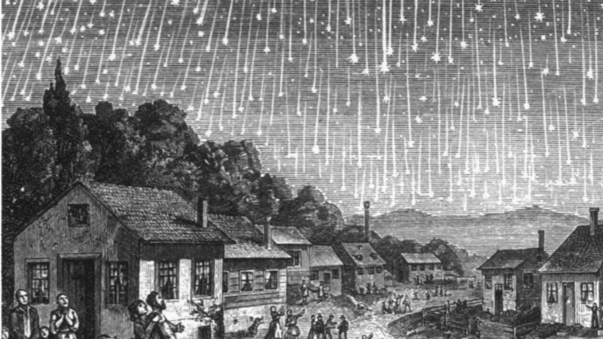 Meteoros en el cielo uvieín