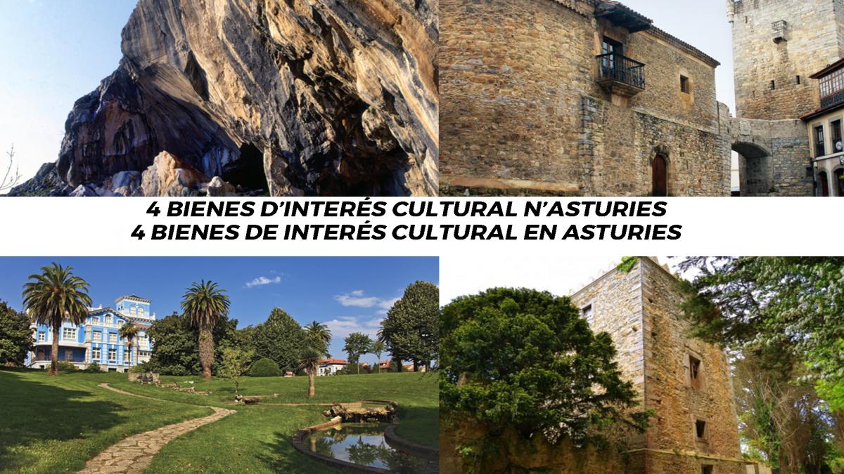 4 bienes de interés cultural que podemos encontrar en Asturies