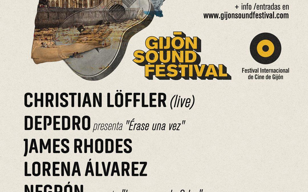 Gijón Sound Festival 2021 se celebrará del 19 al 27 de noviembre, mano a mano con el FICX
