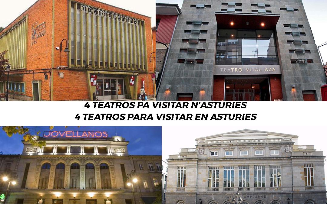 4 teatros de Asturies